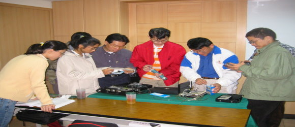勞工安全衛生管理人員安全衛生教育訓練:檢測儀器實習